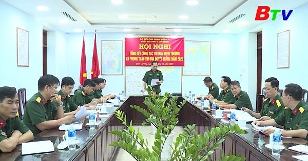 Khối cơ quan Quân đoàn 4 thi đua hoàn thành toàn diện các mặt công tác