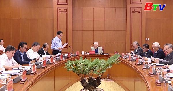 Tổng Bí thư, Chủ tịch nước Nguyễn Phú Trọng - Chủ trì về phòng, chống tham nhũng