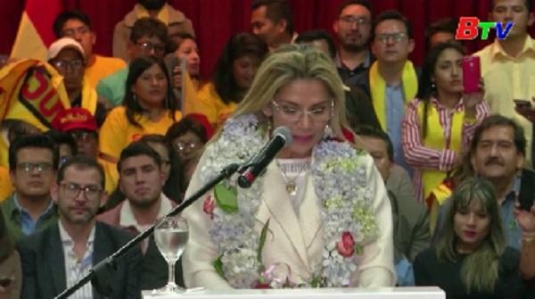 Tổng thống tạm quyền Bolivia tuyên bố tranh cử