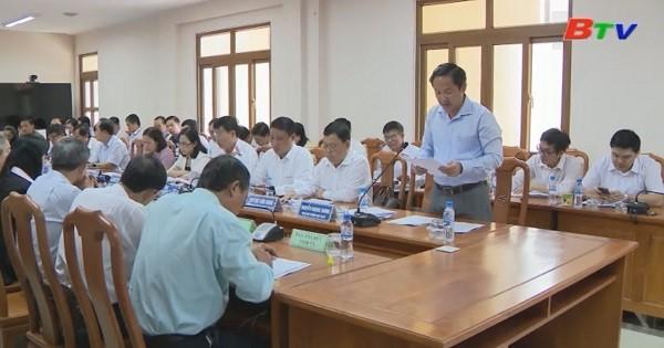 Báo cáo tình hình góp ý Dự thảo Văn kiện Đại hội Đảng bộ tỉnh lần XI, nhiệm kỳ 2020-2025