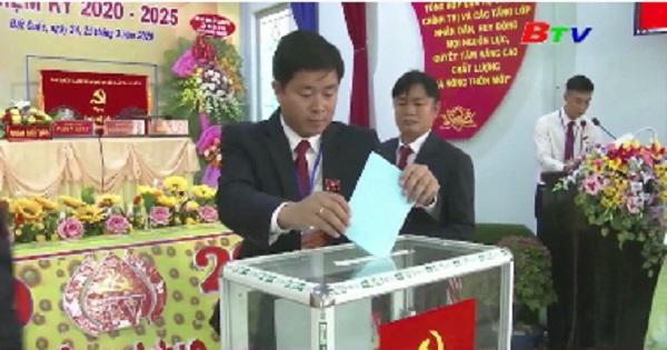 Đảng bộ xã Đất Cuốc huyện Bắc Tân Uyên tổ chức đại hội lần IV, nhiệm kỳ 2020-2025