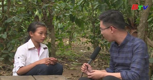 Thắp sáng ước mơ xanh - Em K'Ép, lớp 5C, trường tiểu học Phi Tô, huyện Lâm Hà, tỉnh Lâm Đồng