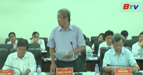 UBND tỉnh Bình Dương họp phiên thường kỳ tháng 4/2017
