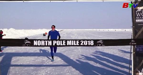 Người đàn ông Ireland lập kỉ lục chạy nhanh nhất tại Bắc Cực