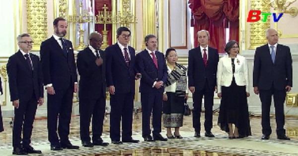 Nga củng cố hợp tác chiến lược với Trung Quốc