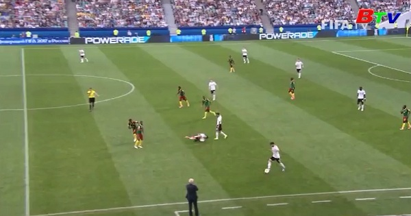 Bảng B - Confed Cup 2017 - Đức 3-1 Cameroon
