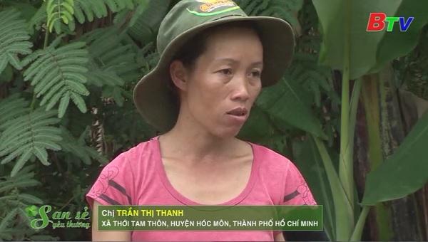 San Sẻ Yêu Thương - Hoàn cảnh chị Trần Thị Thanh (xã Thới Tam Thôn, huyện Hóc Môn, TP.HCM)