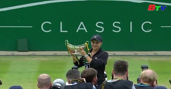 Ashleigh Barty lần đầu tiên thống trị vị trí số 1 ở WTA