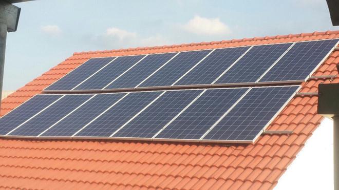 Hỗ trợ 9 triệu đồng cho những hộ lắp điện mặt trời