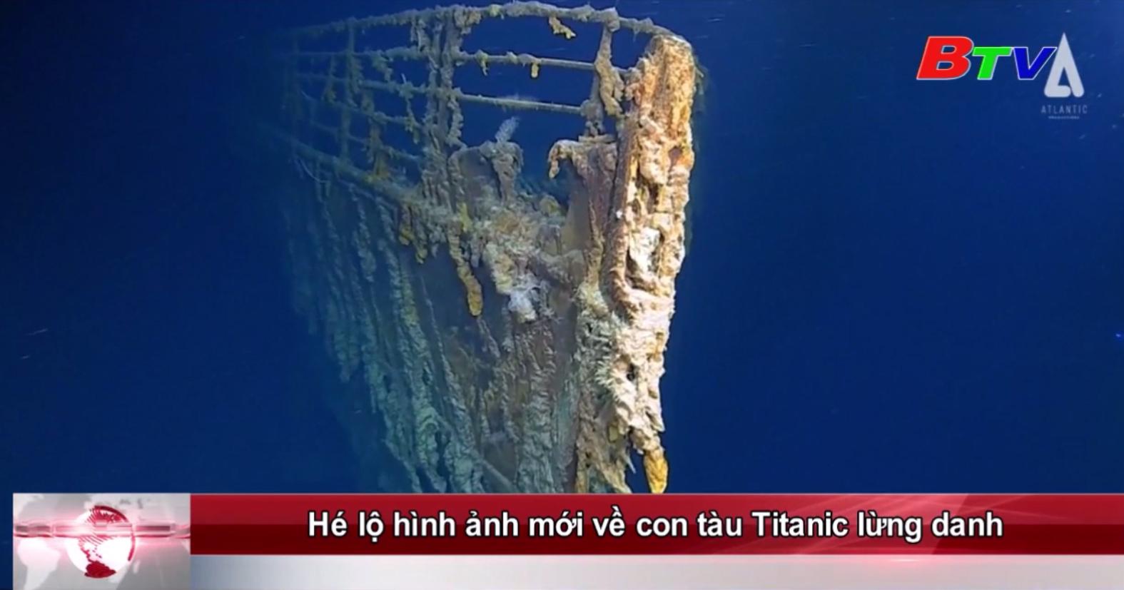 Hé lộ hình ảnh mới về con tàu Titanic lừng danh