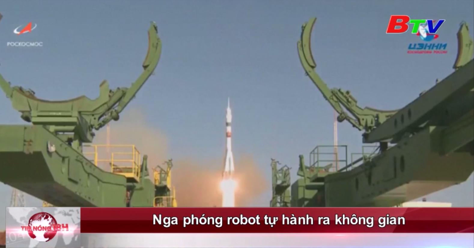 Nga phóng robot tự hành ra không gian