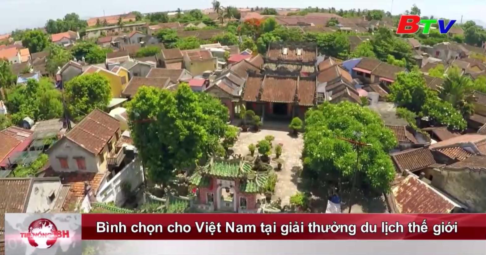 Bình chọn cho Việt Nam tại giải thưởng du lịch thế giới