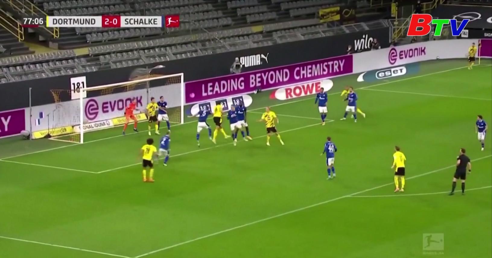 Vòng 5 Bundesliga – Borussia Dortmund 3-0 Schalke