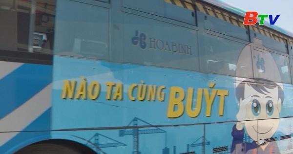 Bình Dương khuyến khích phát triển buýt công nghệ
