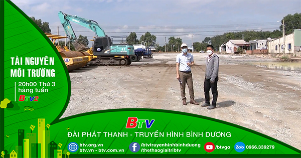 Nỗ lực giải phóng mặt bằng đường tạo lực Phú Giáo - Bàu Bàng