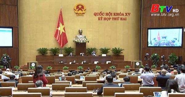 Quốc hội họp trực tuyến về 2 dự thảo luật