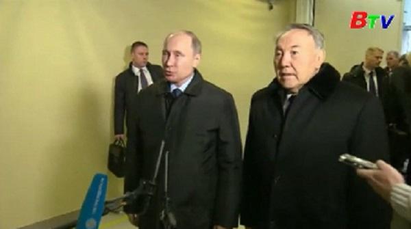 Nga tổ chức quốc tang tưởng niệm nạn nhân máy bay Tu-154 rơi