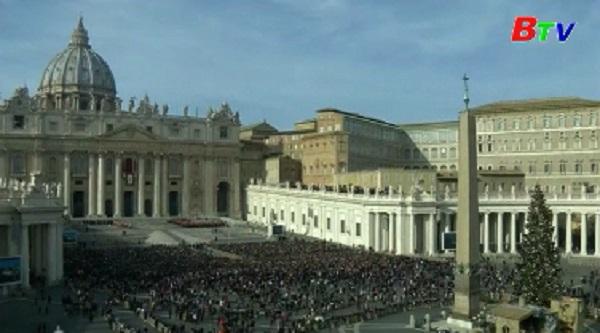 Giáo hoàng Francis kêu gọi hòa bình cho toàn thế giới