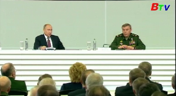 Nga hoàn thành việc rút một phần lực lượng khỏi Syria