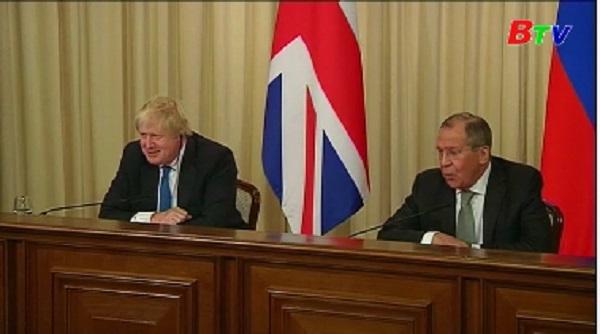 Nga, Anh thúc đẩy cải thiện quan hệ