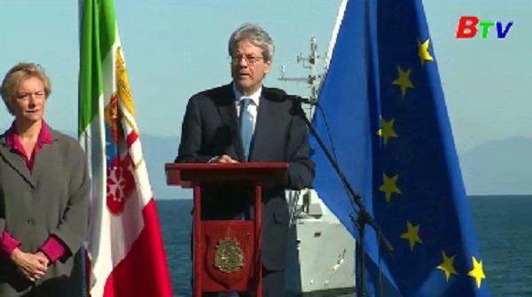 Thủ tướng Italia lên kế họach điều chuyển binh sĩ từ Iraq đến Niger