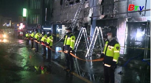Hàn Quốc phát hiện tác nhân gây hỏa hoạn kinh hoàng ở Jecheon