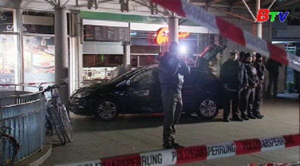 Tấn công bằng xe ở Đức, 3 người bị thương