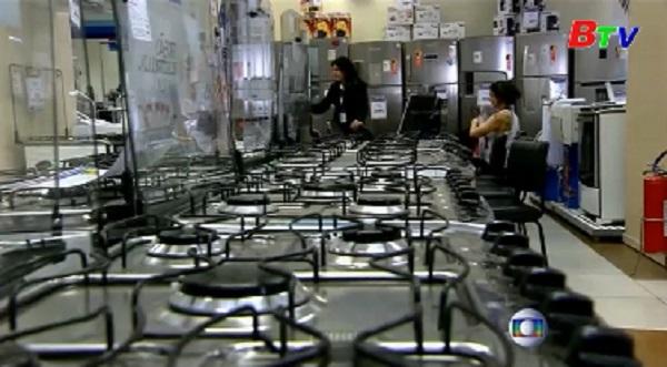 Tỷ lệ thất nghiệp ở Brazil tăng kỷ lục