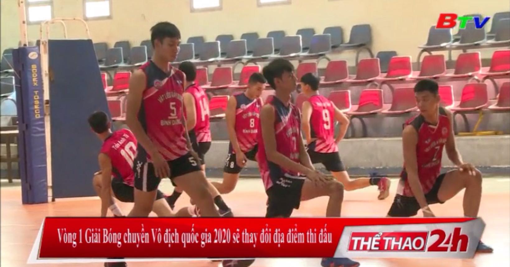 Vòng 1 Giải bóng chuyền VĐQG 2020 sẽ thay đổi địa điểm thi đấu