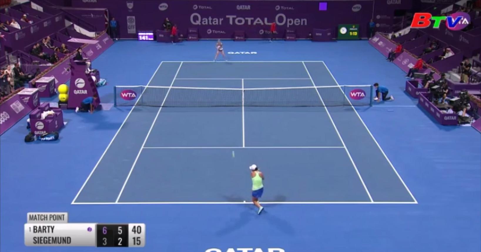 Kết quả các trận đấu nổi bật của 2 giải quần vợt tại Doha và Dubai