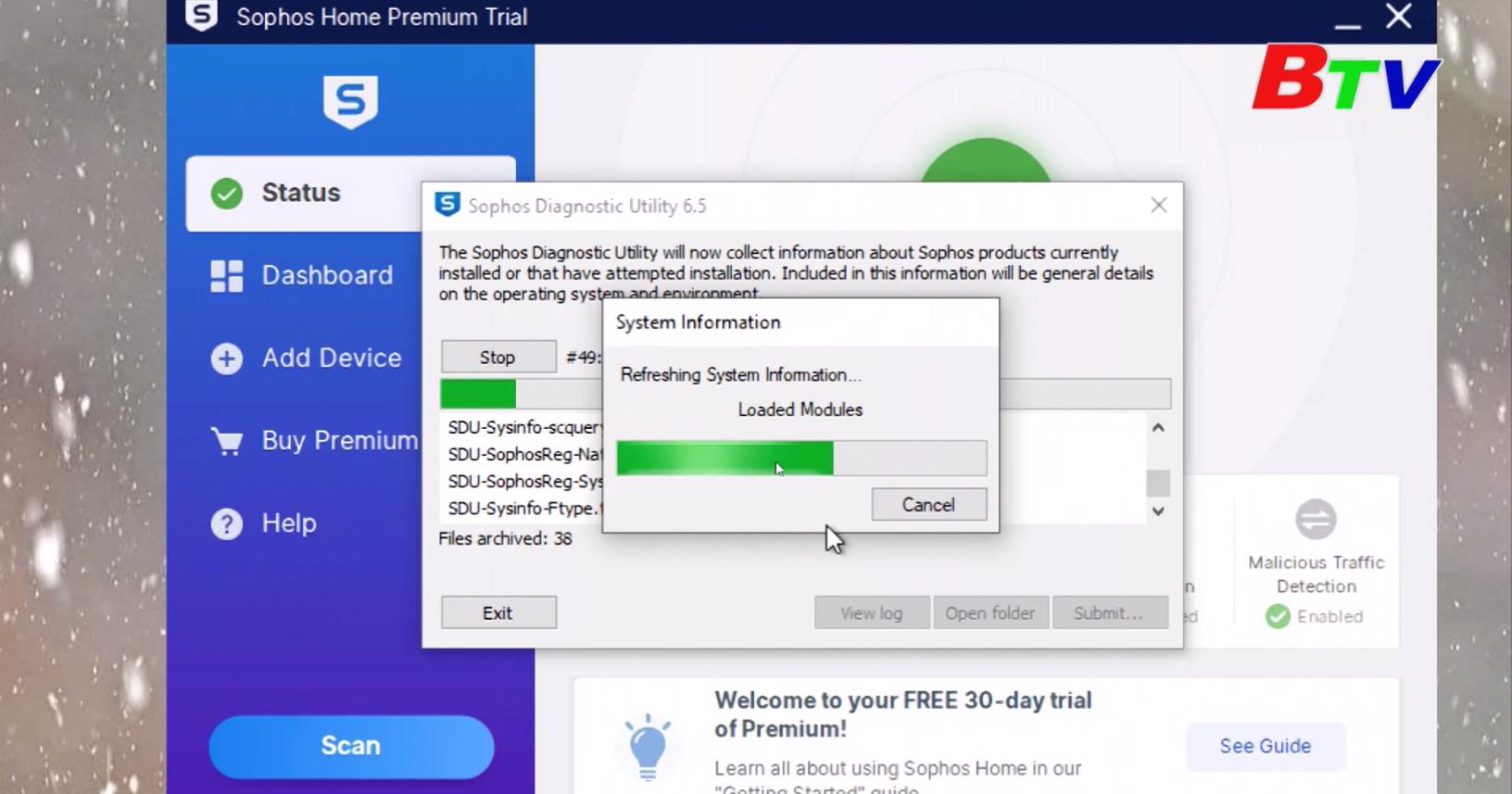 Bảo vệ máy tính với Sophos Home Free