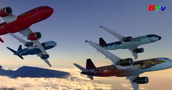 Bỉ trình làng máy bay biểu tượng