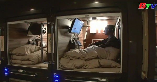 Khách sạn con nhộng - không chỉ là không gian để ngủ