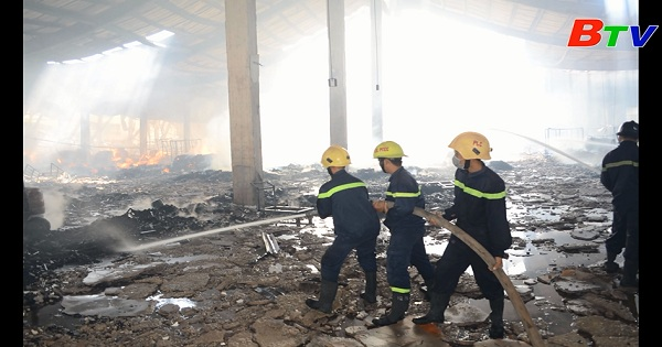 Bình Dương tăng cường công tác phòng cháy chữa cháy mùa khô