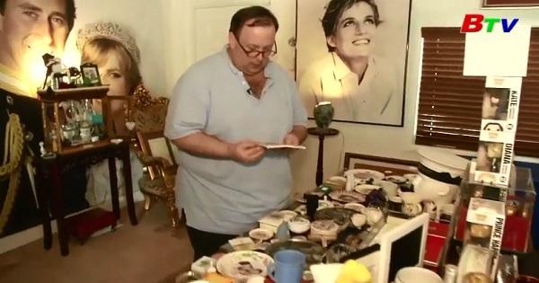 Người đàn ông biến nhà mình thành nơi lưu trữ những món đồ lưu niệm về công nương Diana