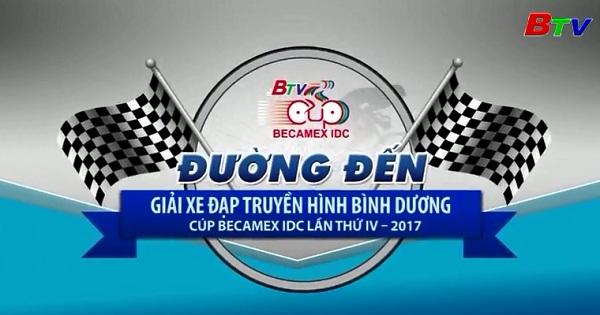 Nhìn lại chặng thi đấu đầu tiên của Giải xe đạp Truyền hình Bình Dương năm 2017