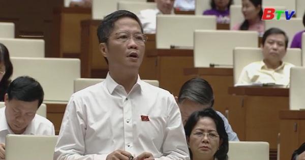 Quốc hội kết thúc phiên thảo luận về kinh tế xã hội
