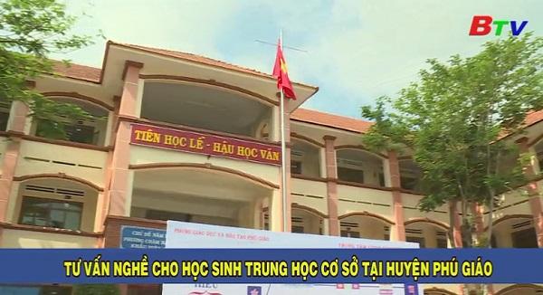Tư vấn nghề cho học sinh THCS tại huyện Phú Giáo
