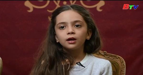Bé  Bana Alabed trở thành một trong những người có ảnh hưởng nhất trên Internet.