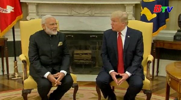 Mỹ, Ấn Độ ra tuyên bố chung cam kết thúc đẩy quan hệ