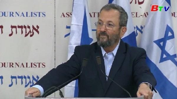 Cựu Thủ tướng Israel Ehud Barak trở lại chính trường