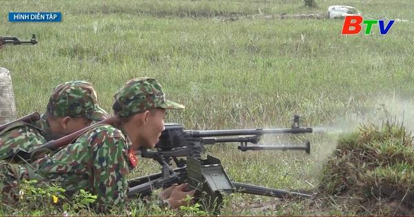 Trung đoàn 2, Sư đoàn 9 (Quân đoàn 4) tổ chức diễn tập bắn đạn thật năm 2020
