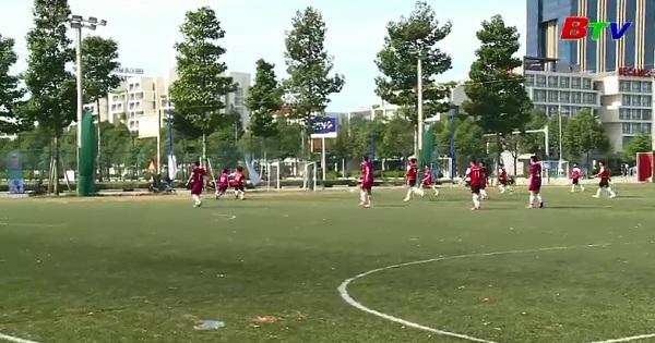 Khai mạc Giải bóng đá sinh viên tỉnh Bình Dương Cúp Becamex  IDC lần V năm 2017