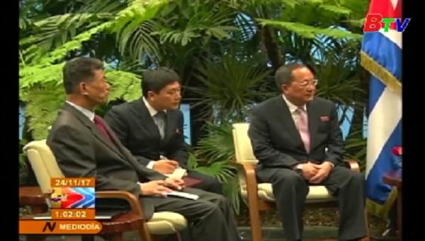 Ngoại trưởng CHDCND Triều Tiên đến Cuba