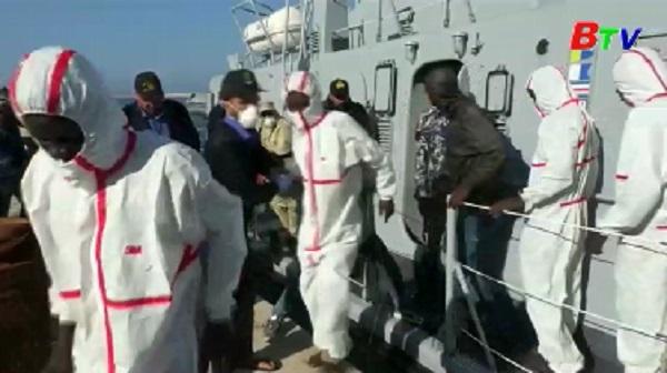 Hàng chục người thiệt mạng do chìm thuyền ngoài khơi Lybia
