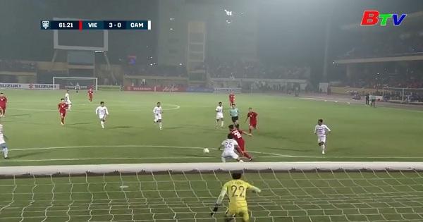 Bàn thắng của Phan Văn Đức - Top 5 AFF Cup 2018