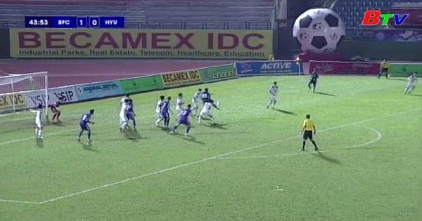 Giải bóng đá quốc tế truyền hình Bình Dương lần thứ XIX Cúp Number 1 : Đại học Hanyang 0-4 Becamex Bình Dương