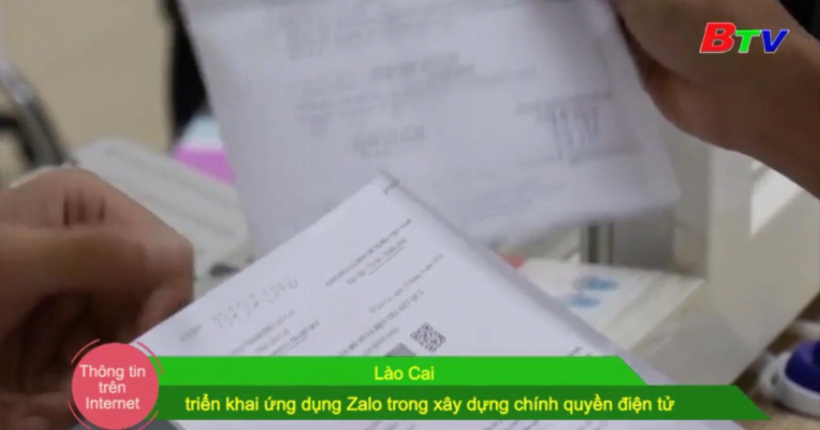 Lào Cai triển khai ứng dụng Zalo trong xây dựng chính quyền điện tử