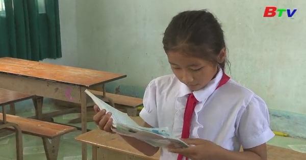 Thắp sáng ước mơ xanh - Em Nguyễn Thị Thu Sương, lớp 5B, trường Tiểu học Long Thuận C, xã Long Thuận, Bến Cầu, Tây NInh