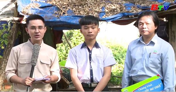 Thắp sáng ước mơ xanh - Em Trần Minh Mẫn, lớp 10C2, trường THPT Chu Văn An, TX. Gia Nghĩa, tỉnh Đắk Nông